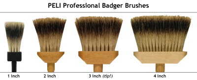 badger brushes
