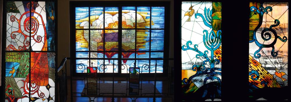 Istvan Egri glass artist