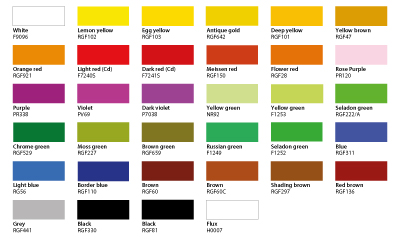 Meissner colors